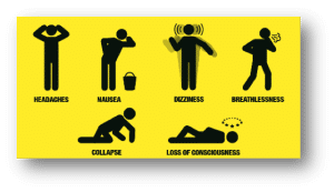 Figure 2 Symptoms of Co2 poisoning